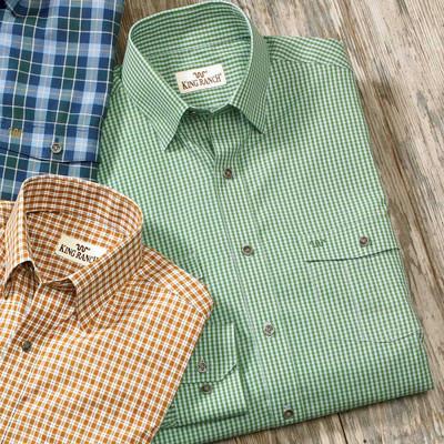 Green Check Remington Shirt