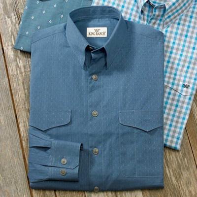 Blue Jacquard Colt Shirt