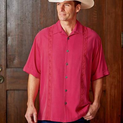 Sandwashed Silk Shirt
