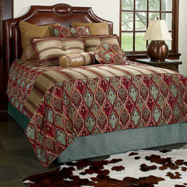 Calypso Bedding Queen King Ranch Saddle Shop