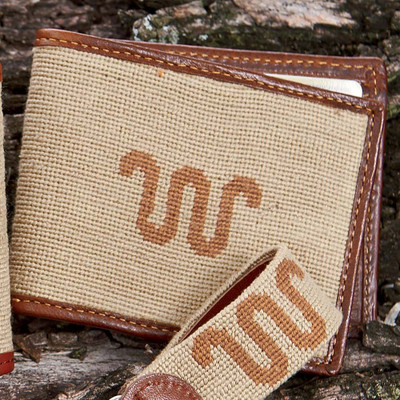 Needlepoint Running W® Wallet