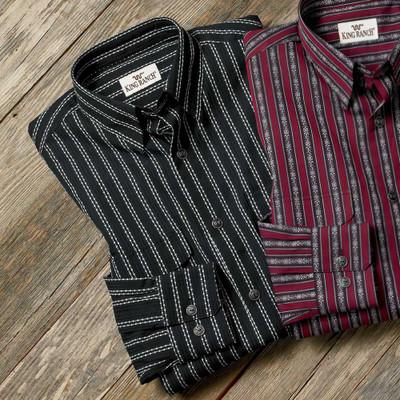 Colt Stripe Shirt - Black & White