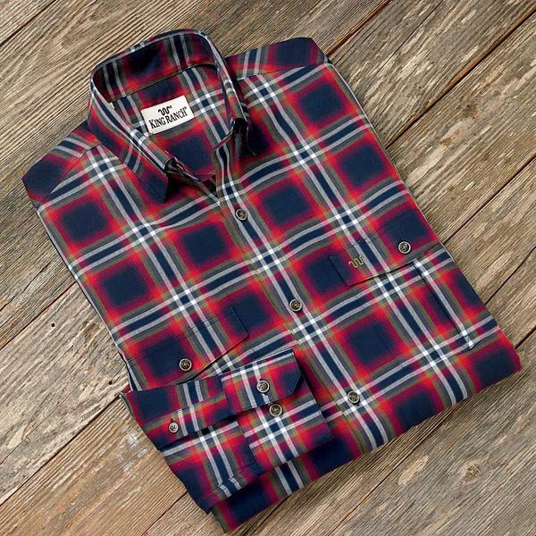 Red/Blue Remington Shirt