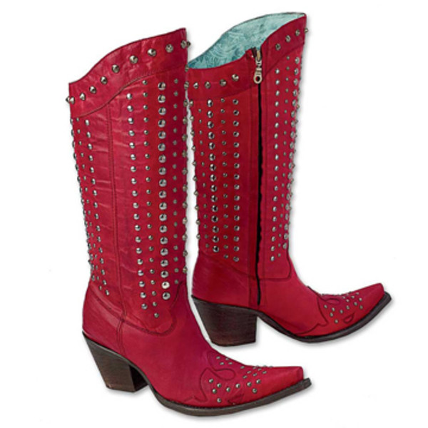 studded boots king ranch saddle shop