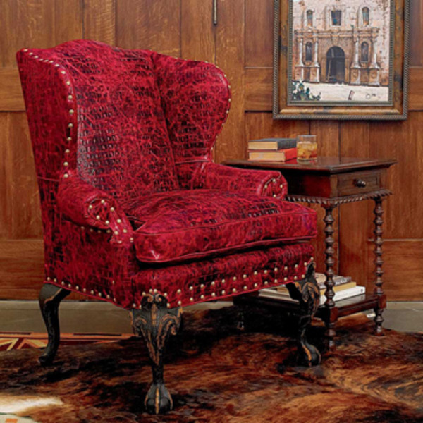 Red Gator Chair