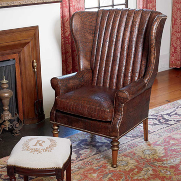 Croco Wing Chair