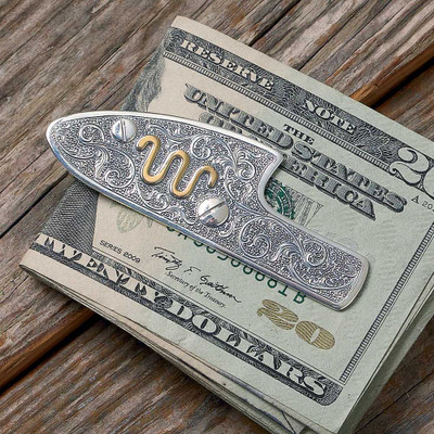 Sidelock Money Clip