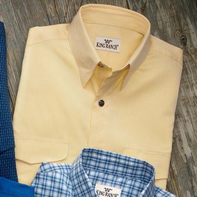 Yellow Herringbone Colt Shirt