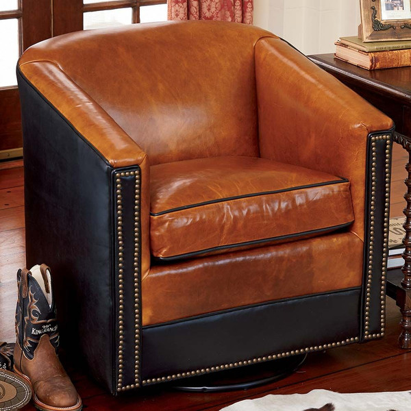 King Ranch Swivel Glider