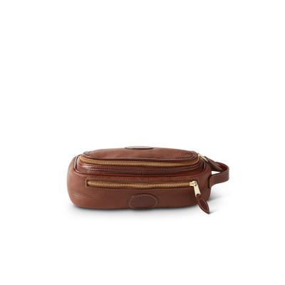 Leather Circular Shaving Kit