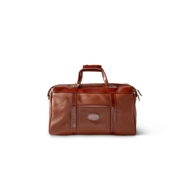 Leather King Ranch Overnight Duffel