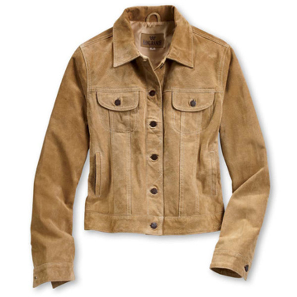 Buckskin and Boar Suede Jacket