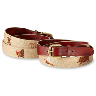 Khaki King Ranch Wildlife Belt