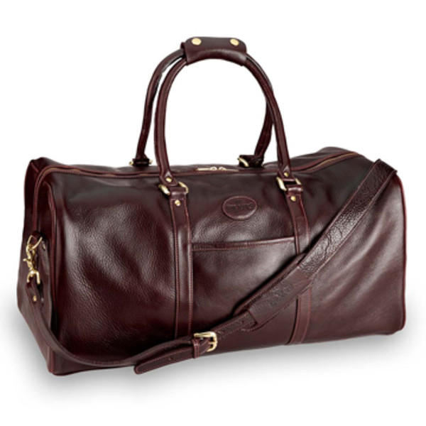 Large Zipper Top Duffel Bag