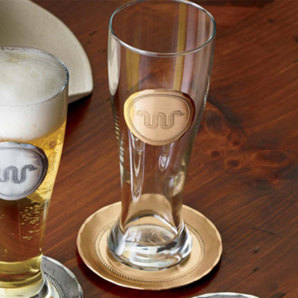 Bronze King Ranch Pilsner Glass Set