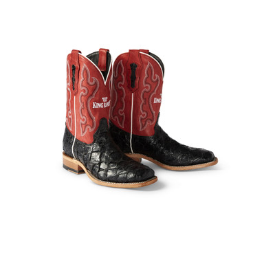 Black Sea Bass Cowboy Boots