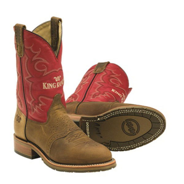 Red King Ranch Cowboy Boots