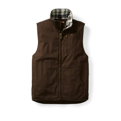 aaf7a29d362 CHOCOLATE CONCEAL & CARRY CANVAS VEST