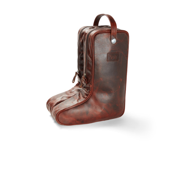 Leather Boot Bag