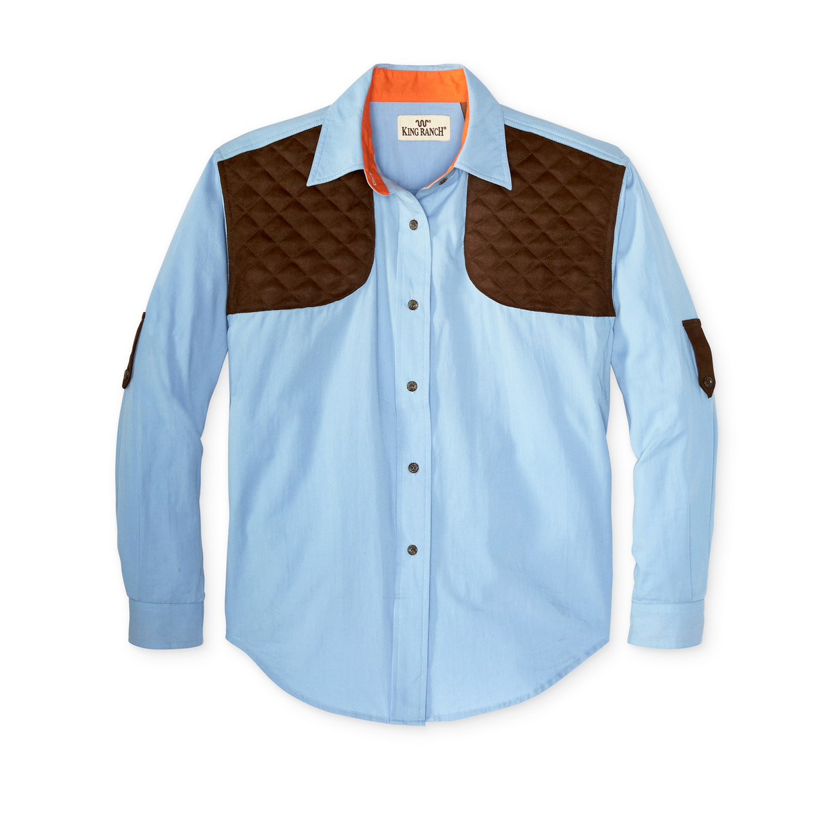 Ladies long sleeve western shirt