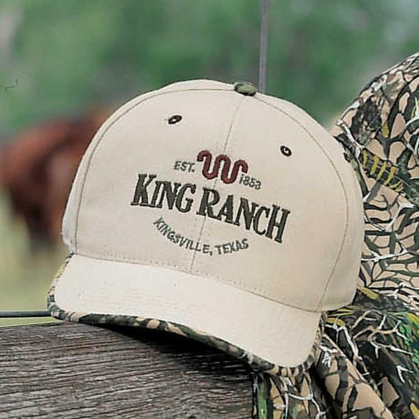 South Texas Khaki/Camo Cap