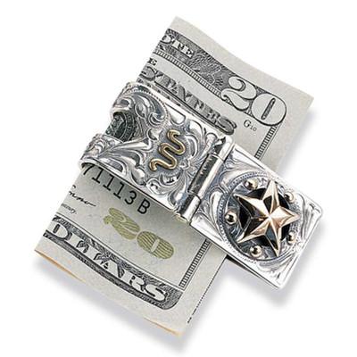 Texas Star Money Clip