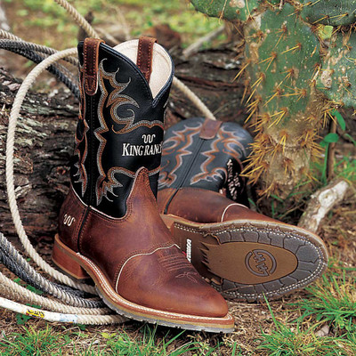 Custom King Ranch Work Boots