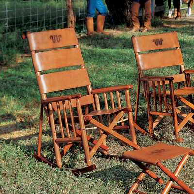 King Ranch High Back Rocking Chair