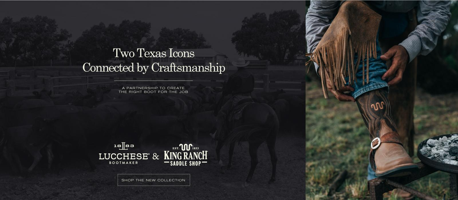 Lucchese and King Ranch Saddle Shop
