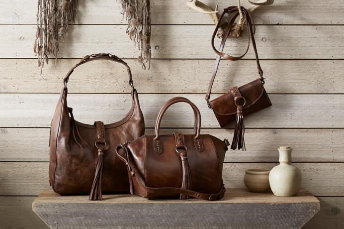 King Ranch expert crafted leather purses, hand bags and luggage.