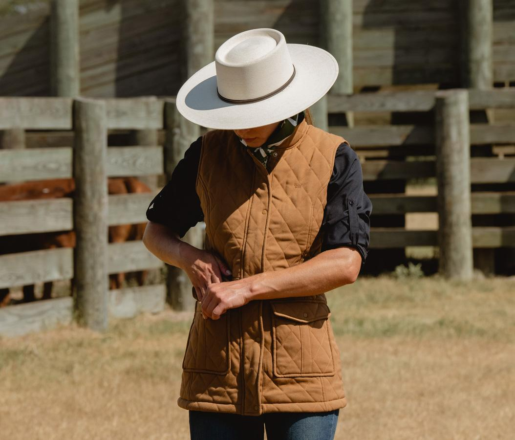 New womens apparel clothing with classic ranch style for town or country.