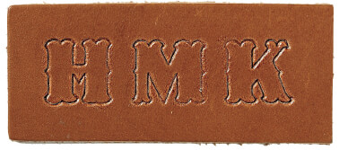 King Ranch Leather Monogram Style Version 1